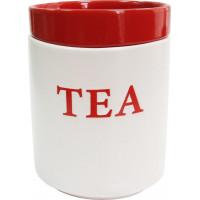 Банка для сыпучих Milika Jelly Red Tea M04130-RP-T  (700 мл)