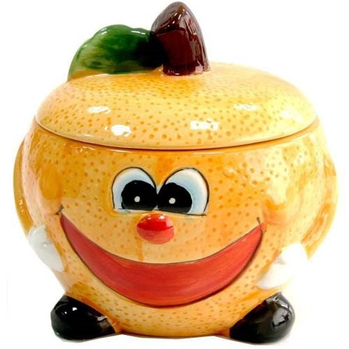Банка для сыпучих Milika Smile Orange Color M07130-EDB127-B (500 мл)