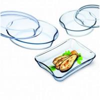Набор посуды из жаропрочного стекла Exclusive Simax s312 5пр