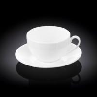 Чашка  чайная с блюдцем Wilmax  WL-993190 / AB (300 мл)