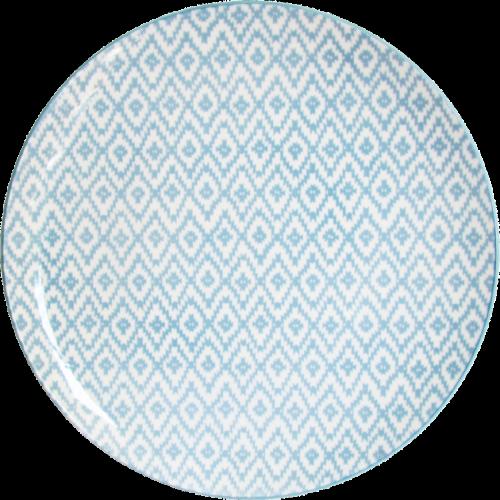 Тарелка обеденная круглая Milika Thai Silk Skiey M0480-26-D4 (27 см)
