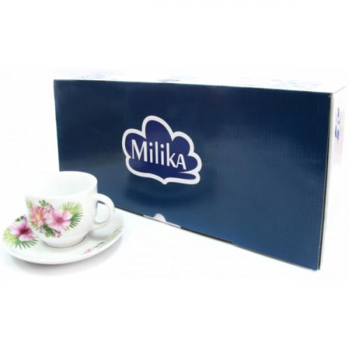 Чайный набор из 12 предметов MilikaTropicana M0630-WX12-18007 (230 мл)