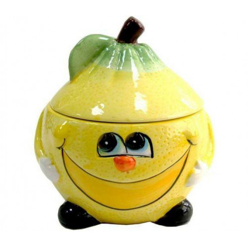 Банка для сыпучих Milika Smile Lemon Color M07130-EDB125-B (500 мл)