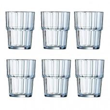 Набор низких стаканов Arcoroc Norvege 60024 (200мл) 6шт