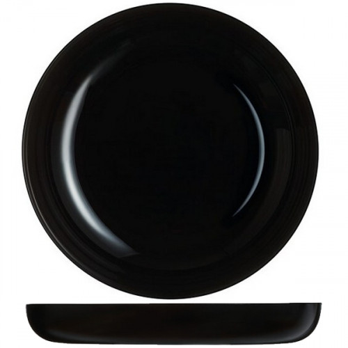 Блюдо глубокое Luminarc Friends Time Black P6375 (25см)