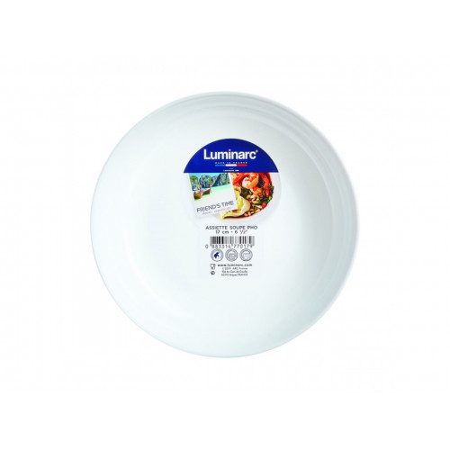 Блюдо Luminarc Friends Time White P6280 (17см)