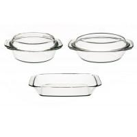 Набор посуды Simax s302 (2,4л,2,4л,1л) 3пр