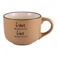 Чашка Milika Love&Live Sandy M0420-L349Y (560мл)