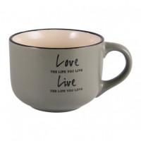 Чашка Milika Love&Live Olive M0420-L349GR (560мл)
