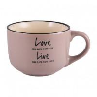 Чашка Milika Love&Live Gray M0420-L349G (560мл)
