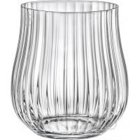 Набор стаканов Bohemia Tulipa Optic b25300 (350мл) 6 шт