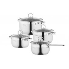 Набор посуды Ardesto Gemini Bari AR1908GSS 8пр