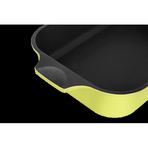 Гусятница с крышкой Ringel Zitrone RG-2108-34 (34x24x13.5см/6+3л)