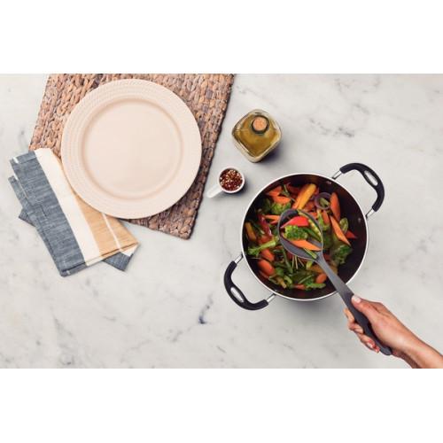 Ложка кухонная с прорезями Tramontina Ability 25161/160 (34,5см)