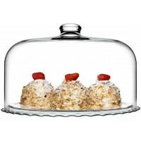 Блюдо с крышкой-колпаком Pasabahce Patisserie 96702 (37см)