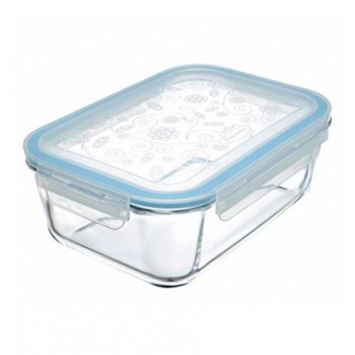 Емкость для хранения продуктов с герметичной с крышкой защелкой Pasabahce Lock - Store 53099 (1,8л)