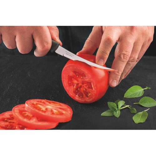 Кухонный нож для томатов Tramontina Plenus Black 23428/105 (127мм)