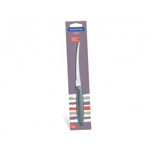 Кухонный нож для томатов Tramontina Plenus Grey 23428/165 (127мм)
