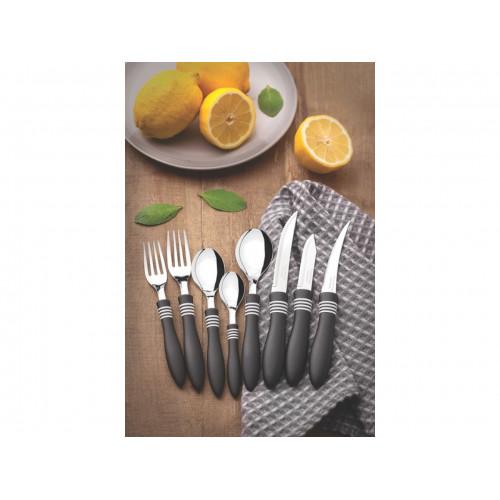 Кухонный нож для томатов Tramontina Cor&Cor Black 23462/104 (102мм)