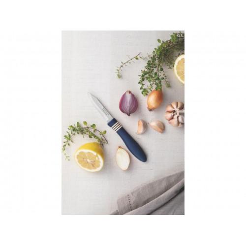 Кухонный нож для овощей Tramontina Cor&Cor Blue 23461/133 (76мм)