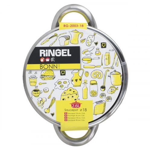 Кастрюля с крышкой Ringel Bonn RG-2003-18 (2,6л)