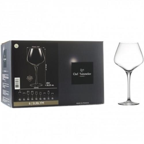 Набор бокалов для вина C&S Sublym N4742 (600мл) 6шт