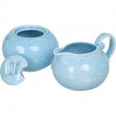 Набор сахарница и молочник Astera Paradise Blue A05220-RS03SB 2пр