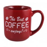 Чашка Milika Enjoy Bordo M0420-K3954R (500мл)