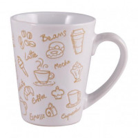 Чашка Milika Coffee Drink White M0420-L697W (320мл)