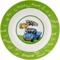 Тарелка десертная Milika Car Friend М0670-TH5049 (17,5см)