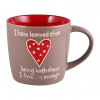 Чашка Milika Big Heart Gray M0420-K339BR (470мл)