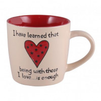 Чашка Milika Big Heart Beige M0420-K339C (470мл)