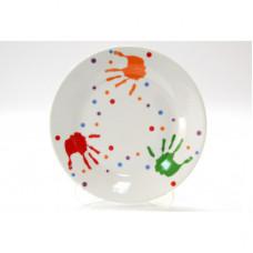 Тарелка десертная Milika Baby Handprint M0670-TH5938 (17.5см)