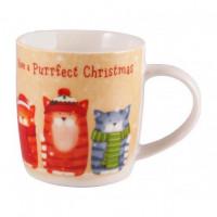 Чашка Milika Purrfect Christmas M0520-NY13 (390мл)