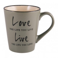 Чашка Milika Love&Live Olive M0420-K142GR (410мл)