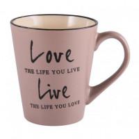 Чашка Milika Love&Live Gray M0420-K142G (410мл)