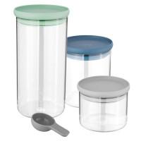 Набор стеклянных контейнеров Berghoff Leo 3950125 3шт