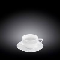 Кофейный сервиз Wilmax Julia Vysotskaya WL-880107-JV (чашка 90мл-6шт,блюдце-6шт)-12пр