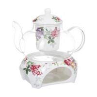 Набор чайник заварочный с подставкой Astera Madelaine A05171-S17 (650мл) 2пр.