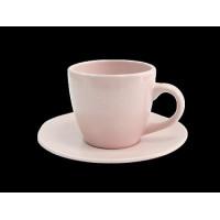 Чашка с блюдцем Astera Marble Pink A0431-ZM12TSB (300мл) 2пр.