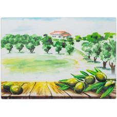 Разделочная доска Viva Olives & Trees C3235C-A7 (35см)