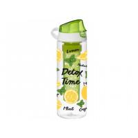 Бутылка для воды Herevin Lemon-Detox Time Display 161558-812 (0.75л)