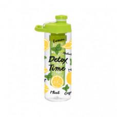 Бутылка для воды Herevin Lemon-Detox Twist 161568-001 (0.65л)