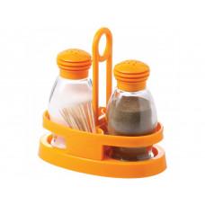 Набор для соли и перца на подставке Herevin Mirage 122020-000 (2x0.095л)