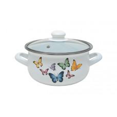 Кастрюля с крышкой Infinity Butterflies 6529090 (22см/4.8л)