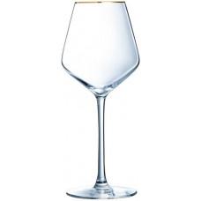 Набор бокалов Eclat Ultime Bord Or P7630 (380мл) 4шт