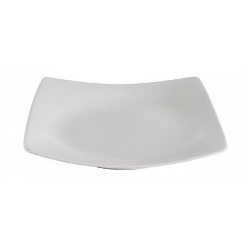 Десертная тарелка Ipec London белая 30900887 (21х21см)