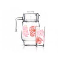 Набор для напитков Luminarc Anabella Pink Q4799 7пр