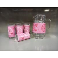 Кувшин со стаканами Luminarc Jayla Pink Q5623 7пр