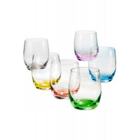 Набор стаканов для виски Bohemia Spectrum b25180-D4696 (300мл) 6шт